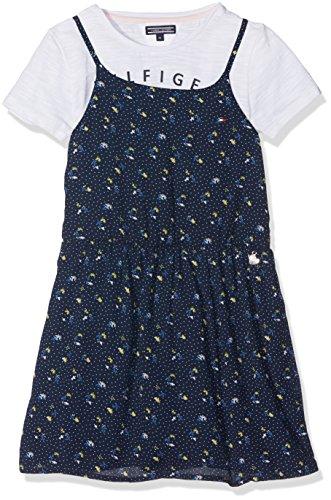 Tommy Hilfiger meisjes jurk DITSY FLORAL 2 IN 1 DRESS SLVLS