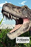 """Five Minute Journal: Dinosaur Tarbosaurus Cover 5 Minute Journal For Practicing Gratitude, Mindfulness and Accomplishing Goals, 120 Pages, Size 6"""" x 9"""" By Ronny Kellner"""
