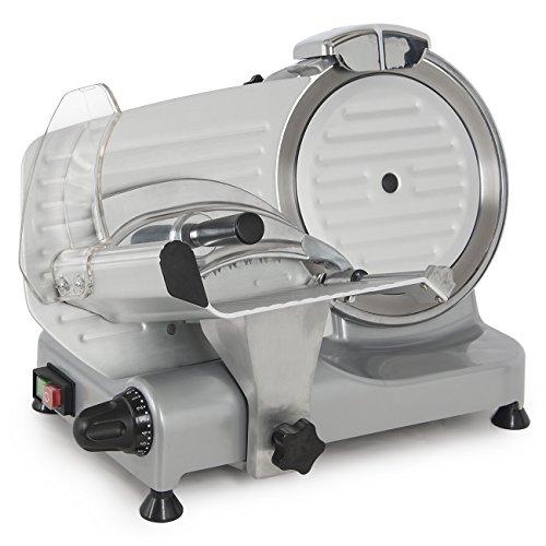 Della 8.7' 180W Electric Meat Slicer Blade Countertop Deli Cutter Veggies Meat Slice Home Kitchen...