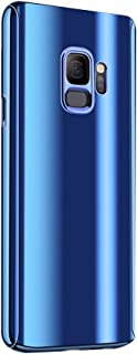 Case for Galaxy S9/S9 Plus Case 3 in 1 Full Body Plating Mirror Ultra Protective Cover