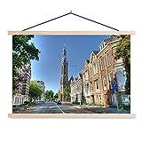 Textil Poster Groningen - Kathedrale im Zentrum von