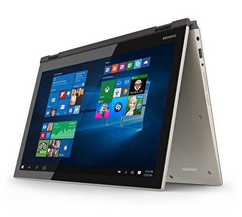 2016 Generation Toshiba Satellite Fusion 15.6' 2-in-1 Convertible Full HD IPS Touchscreen Laptop, Intel Core i7-6500U, 8GB RAM, 256GB SSD, HDMI, Backlit Keyboard, Webcam, Windows 10