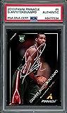 Giannis Antetokounmpo Autographed 2013-14 Panini Pinnacle Rookie Card #5 Milwaukee Bucks PSA/DNA #46477534 - Basketball Slabbed Autographed Rookie Cards. rookie card picture