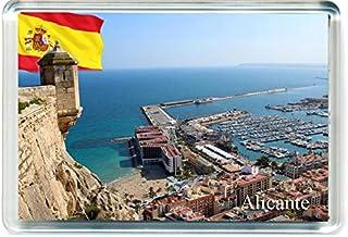 I Dream of Jeannie H336 Santander Aimant pour Le Frigo Spain Travel Fridge Magnet