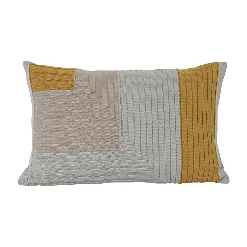Ferm Living Kissen Angle Knit Curry 40x60cm