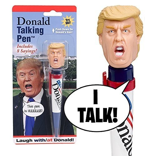 Donald Talking Pen, 8 Different Sayings, A Funny Gift