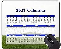 2021年のカレンダーマウスパッド、休日、ヒルズグラスツリーマウスパッド