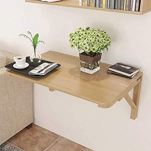 Codzienne wyposażenie Składany stół naścienny Drewniany stół narożny Podwójna podpórka Stolik kuchenny Biurko na kozłach Nadaje się do nauki komputera i jadalni (rozmiar: 60 * 45 cm)