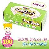 TEKO-JP雑貨館 防臭袋 消臭袋 Mサイズ 100枚入り 生ゴミが臭わない袋 ゴミ袋 臭わない袋 おう吐袋
