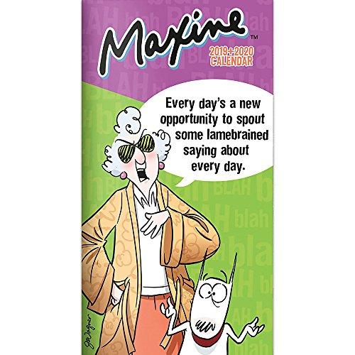 Maxine 2019-2020 2-Year Pocket Planner