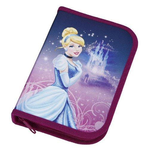 Undercover CI12044 - Schüleretui gefüllt Disney Cinderella, 30-teilig