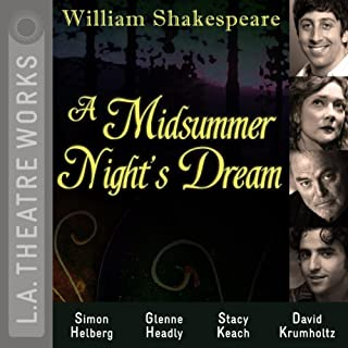 A Midsummer Night's Dream                   Autor:                                                                                                                                 William Shakespeare                               Sprecher:                                                                                                                                 Simon Helberg,                                                                                        Glenne Headly,                                                                                        Hector Elizondo,                   und andere                 Spieldauer: 1 Std. und 57 Min.     1 Bewertung     Gesamt 3,0