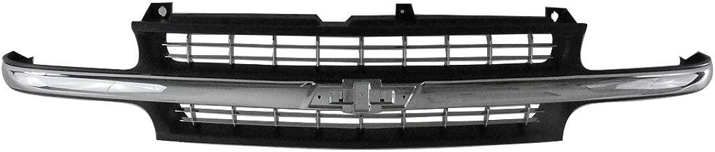 Titanium Plus Autoparts, 1999-2002 Fits For Chevrolet Silverado 1500 | 1999-2002 Chevrolet Silverado 2500 | 2001-2002 Chevrolet Silverado 1500 HD Front GRILLE