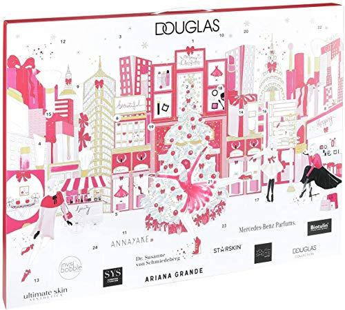 Douglas Beauty Adventskalender 2019 New York - 24 Beauty Highlights für Damen + Mädchen - Wert über 200€ - Limitiert + Haar- und Armband Kalender