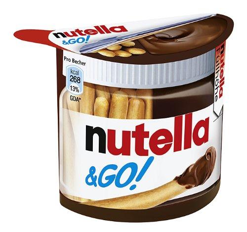 Nutella & GO, 4er Pack (4 x 52 g Packung)
