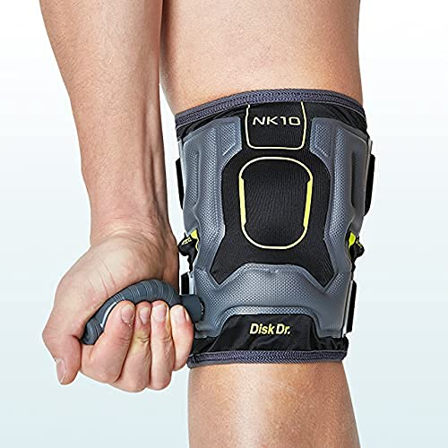 Disk Dr AIR Knee Brace Support & Compression for Patella, ACL/PCL Protection, Knee Support for Sports (Sports Type, Medium)