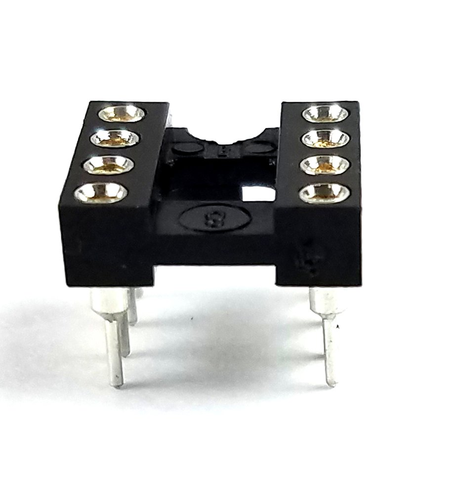 Juried Engineering DIP-8 IC DIP P Round Sockets Contact Large discharge Max 44% OFF sale Machined