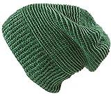 Guru-Shop Beanie, Baumwoll Häkelmütze, Herren/Damen, Smaragdgrün, Baumwolle, Size:One Size, Mützen Alternative Bekleidung