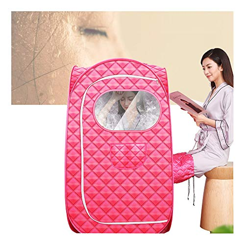 GJXJY Dampfsauna Mobil 2 Personen Portable Folding Spa Sauna Zelt 2L Sauna Steamer, Fernbedienung, Zur Entspannung, Gewichtsabnahme, Entgiftung