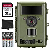 Bushnell Natureview HD Live View Trail Camera 119740,14MP + 32GB SD Card, 12 AA Batteries and Lens Cleaning Cloth