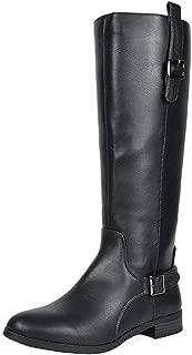 Women's Knee High Winter Riding Wide Calf Boots