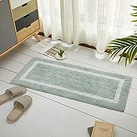 玄関マット 台所カーペット 長方形 40*80cm ふわふわ 防カビ 滑り止め加工 吸水/速乾 フロア/浴室 足拭きマット トイレ キッチンマット 絨毯カーペット