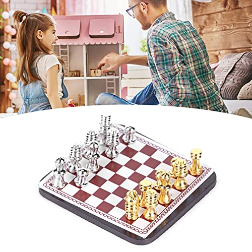 1/12ドールハウスチェス、繊細な質感ドールハウスチェスマグネットドールハウス用