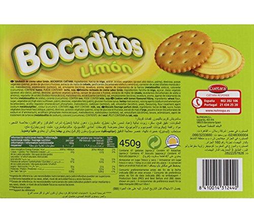 Bocaditos de Limon Cuétara 450gr.
