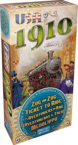 Ticket To Ride Usa 1910 - espansione gioco da tavolo edizione in italiano (0119 ASMODEE ITALIA)