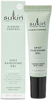 Sukin Blemish Control Spot Banishing Gel, 15ml