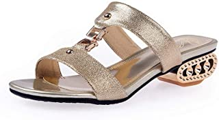BalaMasa Womens AFL00467 Pu Slippers