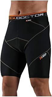 Shock Doctor Compression Shorts. Men's Cross Compression Boxer. for Basketball, Soccer, Running, Crossfit and More
