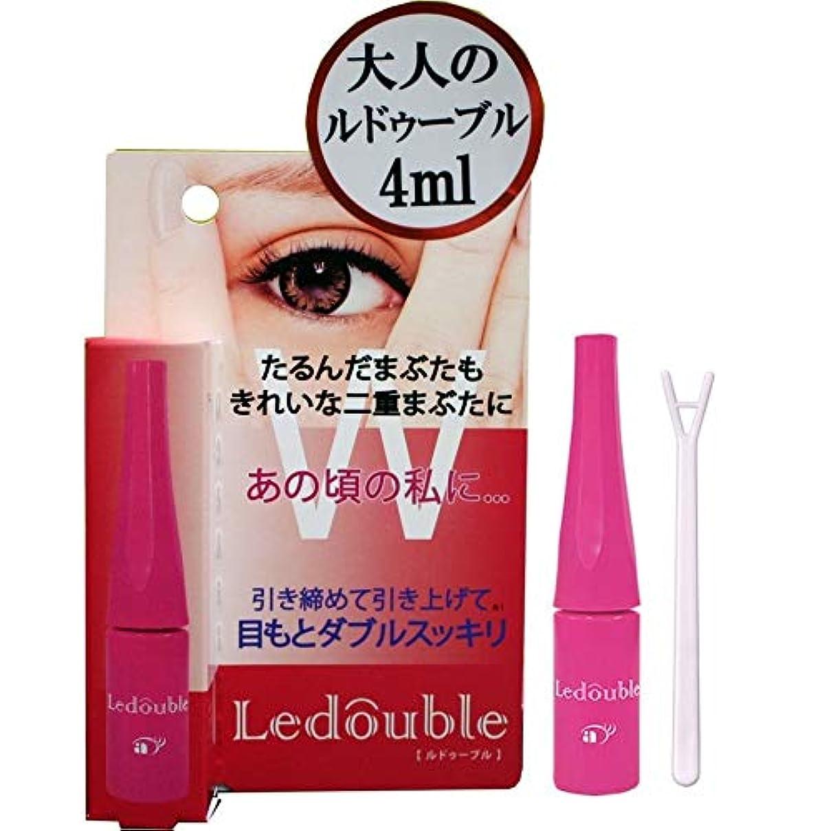 一次花輪ワゴン大人のLedouble [大人のルドゥーブル] 二重まぶた化粧品 (4mL)