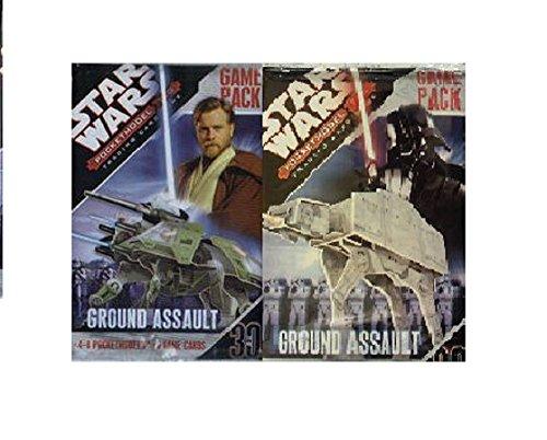 Star Wars PocketModel TCG Ground Assault Game Pack