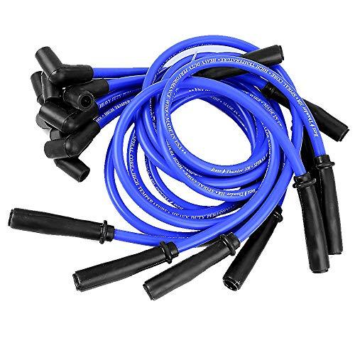 10,5 mm de alto rendimiento cable de la bujía Conjunto IES SBC BBC 350 383 454 Los cables de encendido electrónico IES Plug