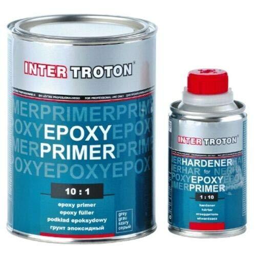 Troton 1,1kg Epoxy Grundierung 10:1 2K Primer Füller Epoxidharz Epoxyd + Härter