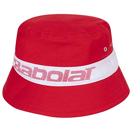 Babolat Bucket Hat Kappe, Tomatenrot, Einheitsgröße