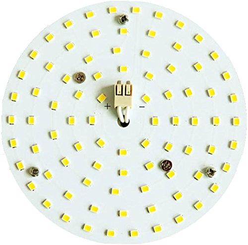 LED Umrüstsatz rund 110mm 10W 3000K warm weiß LED Modul für Innen und Außen Leuchten Lampen für den Umbau auf LED