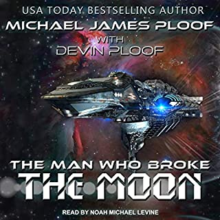 The Man Who Broke the Moon audiobook cover art