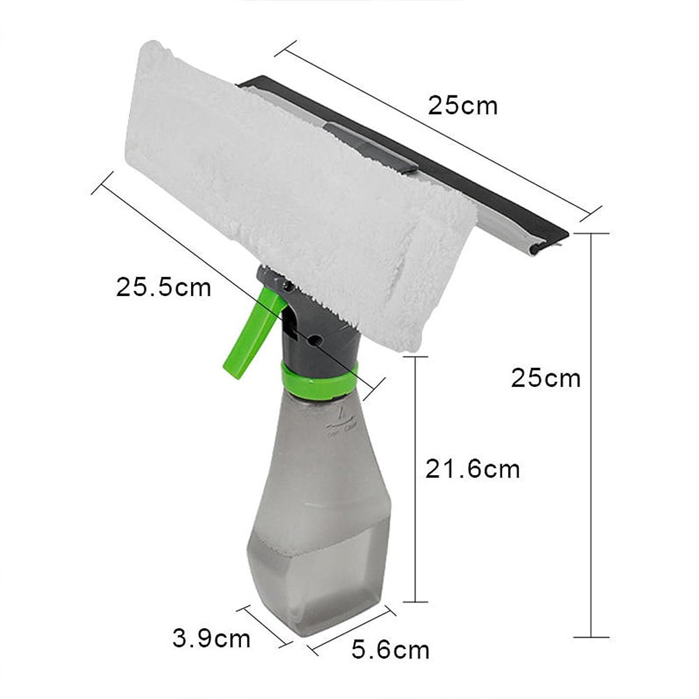 ピッチ概念リダクタークリーニングブラシ3で1用キッチンウィンドウクリーナー車多目的窓スロットハンドヘルドでスプレーボトル家庭用