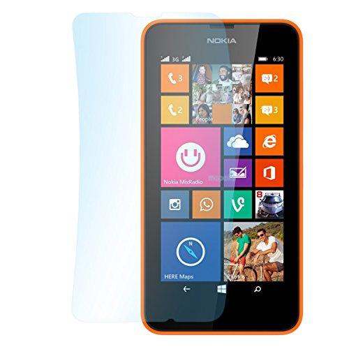 doupi 3X Ultrathin Pellicola Protettiva per Nokia Lumia 630 (4,5 Pollici), Matt Opaca Anti Impronte digitali Anti riflesso Protettore Schermo Protezione (3 in Pack)