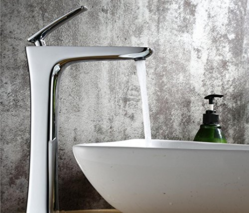 For Sale! XIE Full copper chrome faucet basin hot and cold water faucet basin basin bathroom cabinet...