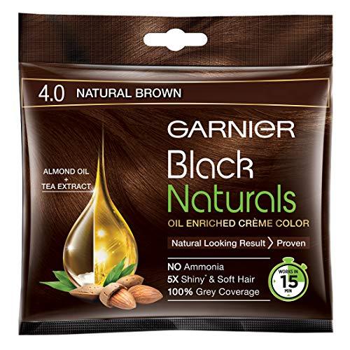 Garnier Black Naturals Nat Brown Color Shade No. 4 40 Ml