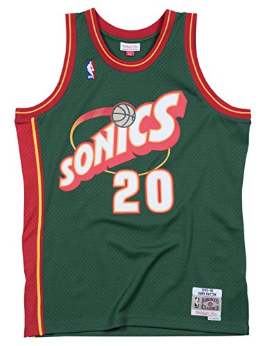 Mitchell & Ness Seattle SuperSonics Gary Payton Swingman Jersey (XX-Large)
