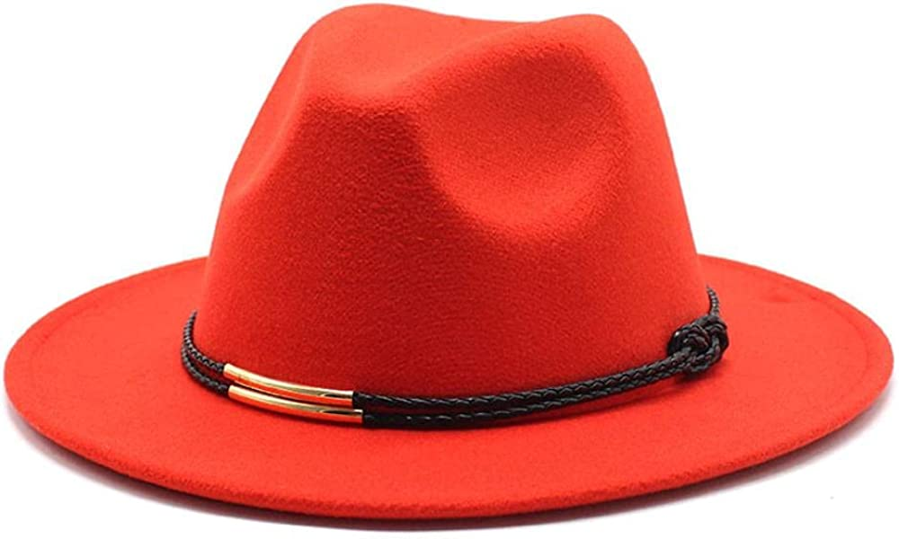 New popularity Women's and Men's Fedora Hat Classic Elegant Wide Brim Al sold out. Wo Panama