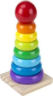Melissa and Doug Rainbow Stacker 576 - Activity and Amusement
