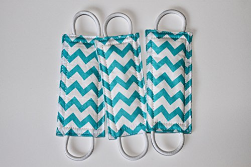 Latchy Catchy 3 Packs | Door Silencer (Chevron Colors) (Blue Chevron)