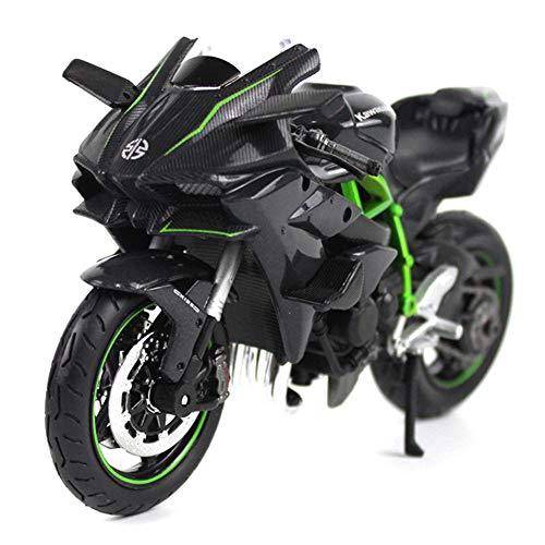 LMEI-Cars 1:12 Kawasaki H2R Druckguss Modell Motorrad Racing Miniatur Metall Sammlung Toy Boy Geschenk Modell Simulator