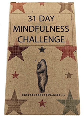 31 Day Mindfulness Challenge Cards - Take One a Day for a Month of Mindfulness