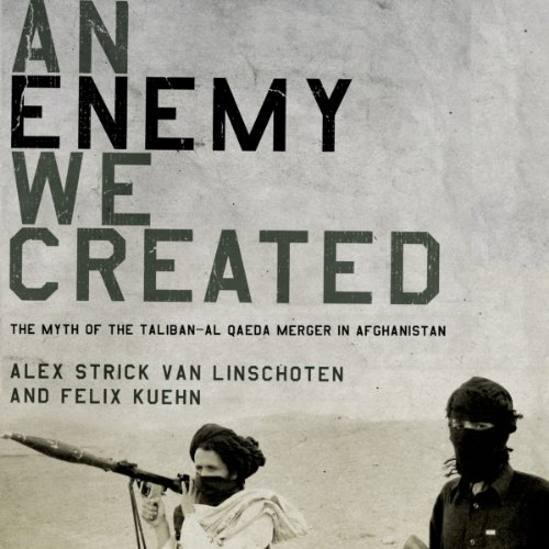 An Enemy We Created audiobook cover art